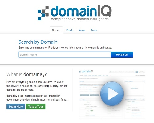 Domain Name Research Tool