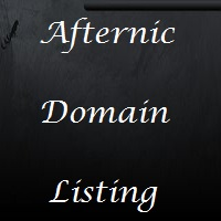 afternic domain name listing and parking