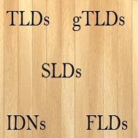 tlds,slds,idns